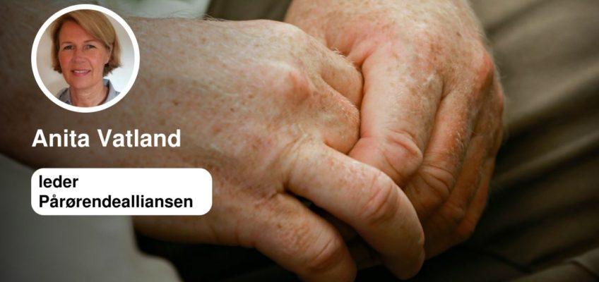 Den nye omsorgsarbeideren? Det er du det! | Anita Vatland – Aftenposten